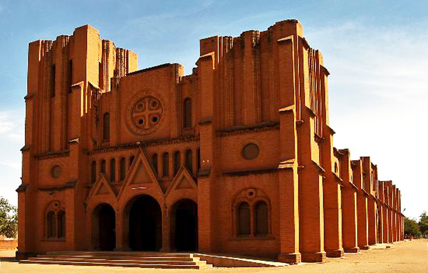 Ouagadougou Cathedral – The Cathedral of the Immaculate Conception in Ouagadougou