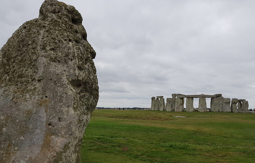 Stonehenge – One of the most famous landmarks of the United Kingdom in Amesbury
