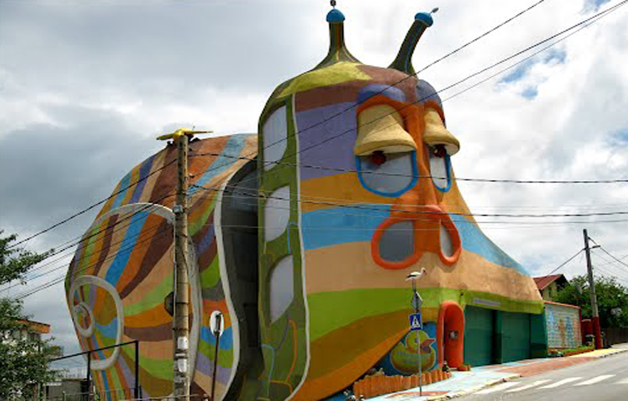 Snail House – The unusual gastropod house in Sofia