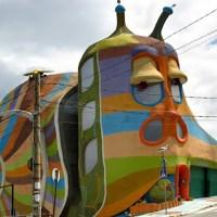 Snail House - The unusual gastropod house in Sofia