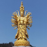 "Guishan Guanyin - The statue of ""Goddess of Mercy"" in Ningxiang"