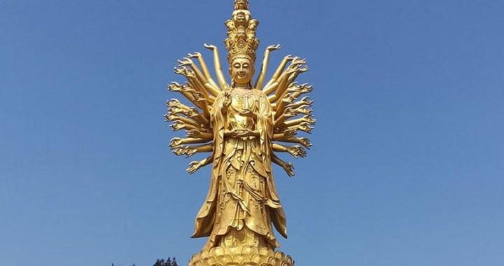 "Guishan Guanyin – The statue of ""Goddess of Mercy"" in Ningxiang"