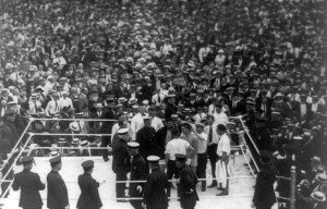 """Dempsey vs. Carpentier – The """"Fight of the Century"""" in Jersey City"""