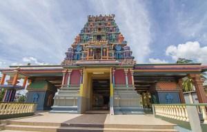 Sri Siva Subramaniya temple – The large colored house of worship in Nadi