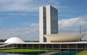 National Congress building of Brazil – The big landscape architecture in Brasília