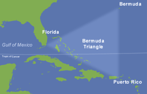 Bermuda Triangle – The area of myths and theories in the Atlantic Ocean