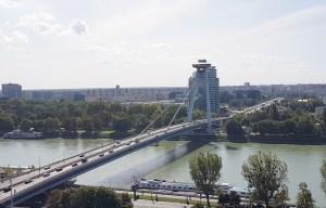 Bridge of the Slovak National Uprising – The UFO Bridge in Bratislava