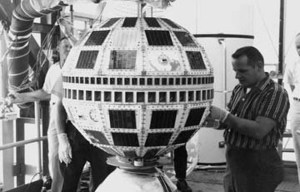 Telstar – The world's first commercial communications satellite is being exhibited in Washington D.C.