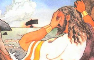 King Aegeus – The tragic father of Theseus leapt to his death off the cliff in Sounion