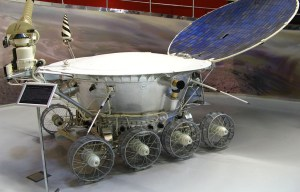 Lunokhod 1 – The first wheeled craft to land on any celestial body is being exhibited in Moscow