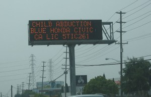 Amber alert – The notification system for missing children is born in Arlington