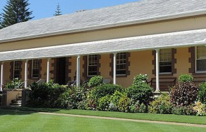 Norfolk Government House – The oldest working government building of Australia in Norfolk Island