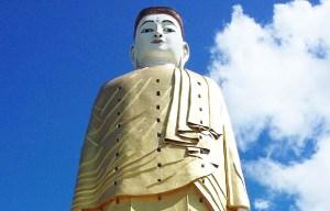 Laykyun Sekkya – The giant standing Buddha statue in Monywa