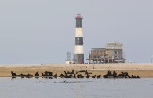 Pelican Point Lighthouse – The holiday lighthouse in Walvis Bay