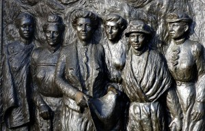 Kate Sheppard National Memorial – The women's suffrage monument in Christchurch