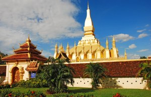That Luang – The national symbol of Laos in Vientiane