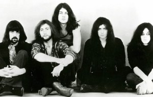 """Deep Purple – The great psychedelic rock band recorded """"Smoke on the Water"""" in Montreux"""