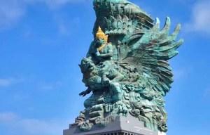 Garuda Wisnu Kencana statue – The magnificent sculpture of Indonesian civilization stands in Kuta Selatan