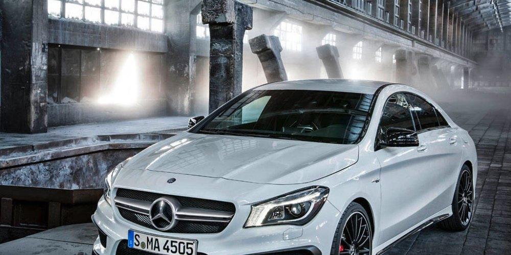 El nuevo Mercedes-Benz CLA 45 AMG en todo su esplendor