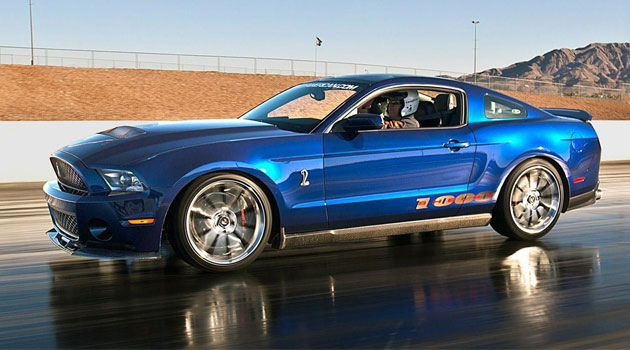 """Shelby 1000 S/C """"nada más"""" con 1.200 hp"""
