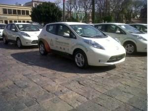 Foto 1_Nissan LEAF_vehiculo oficial de la Feria de San Marcos