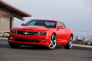 2013 Chevrolet Camaro SS with an RS appearance package