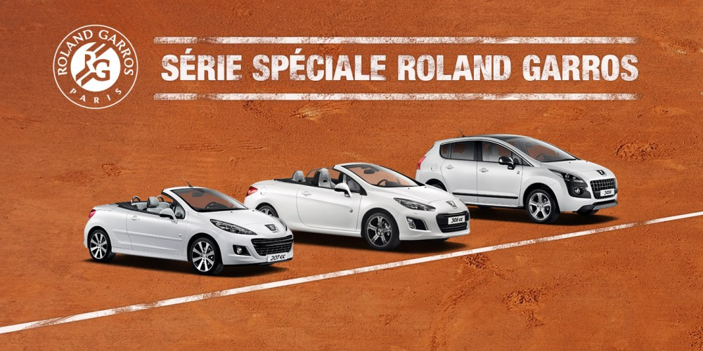 Peugeot presenta versiones Roland Garros