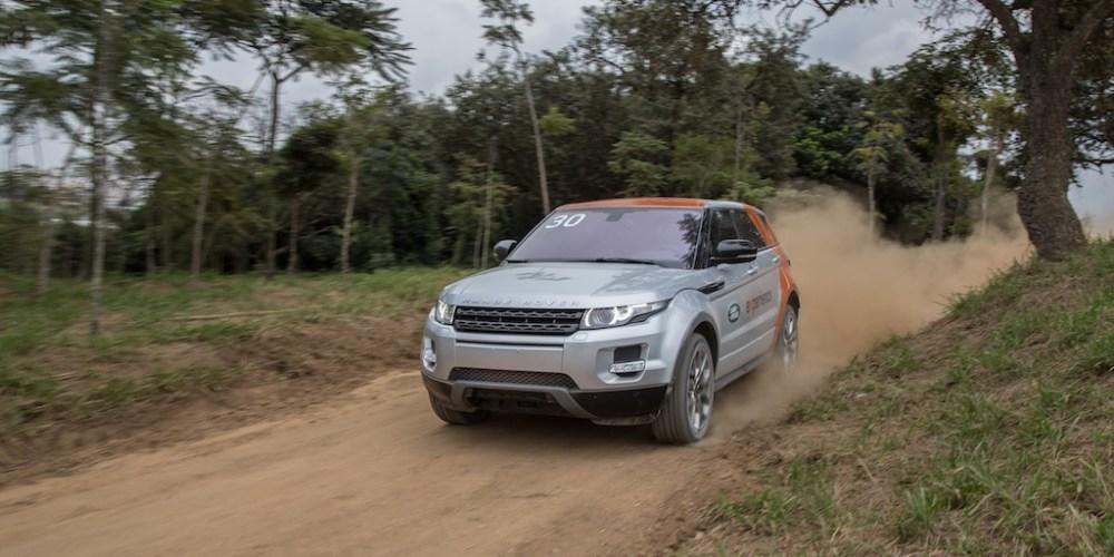Land Rover, la gama completa en prueba Off-Road Brasil