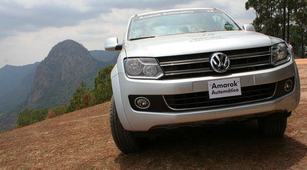Volkswagen Amarok con caja automática en México