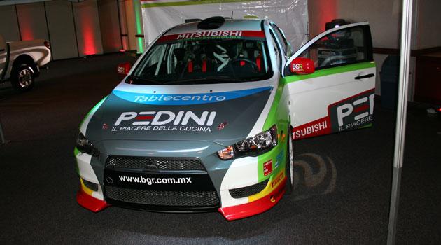 BGR-Mitsubishi el equipo oficial para el campeonato mexicano