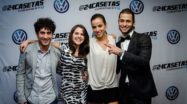 Arranca el proyecto @24Casetas, la serie de Volkswagen creada para Twitter