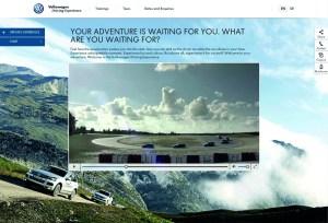 ?Volkswagen Driving Experience? website goes online