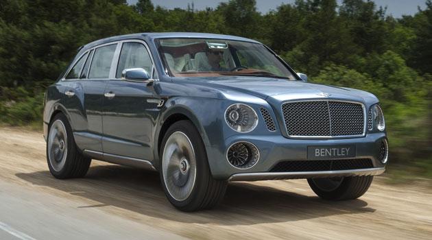 Bentley EXP-9 llegará en el 2016