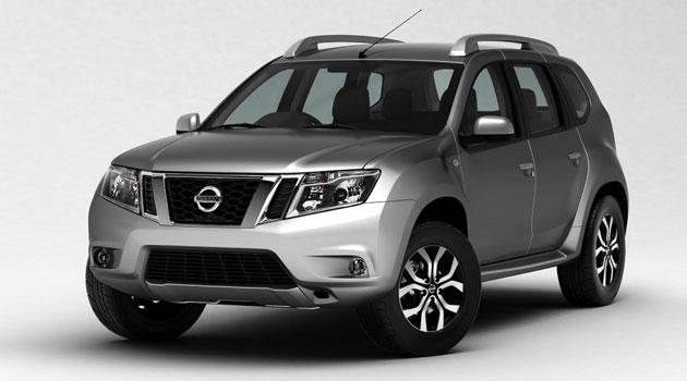 Nissan Terrano para el mercado de la India