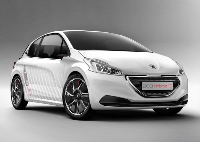 Peugeot 208 Hybrid FE, ¡780 kilos!