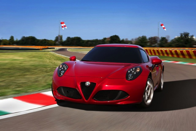 Alfa Romeo 4C: 'just drive