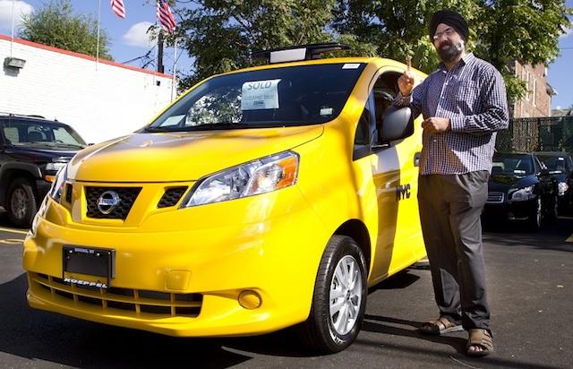 Nissan toma Nueva York con la llegada del NV200T