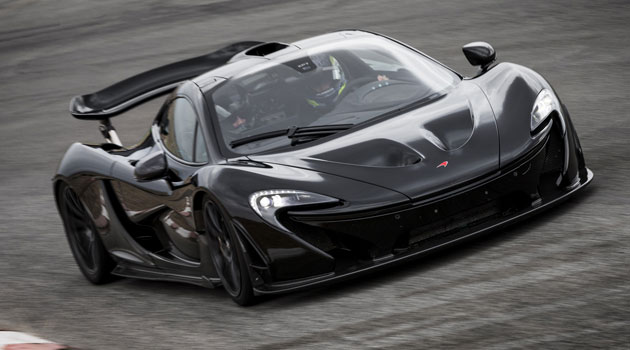 McLaren P1 y sus impactantes cifras oficiales