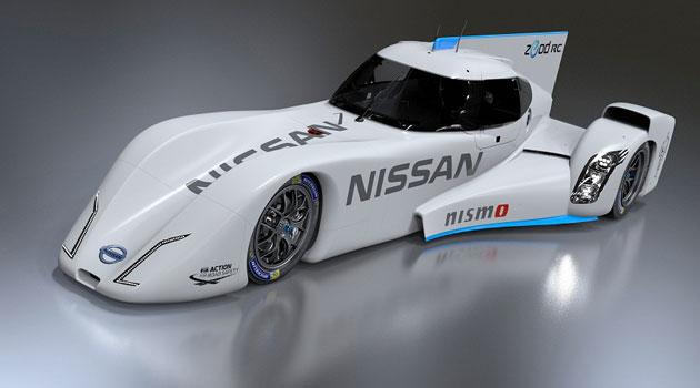 Nissan ZEOD RC hizo su debut en público en Japón