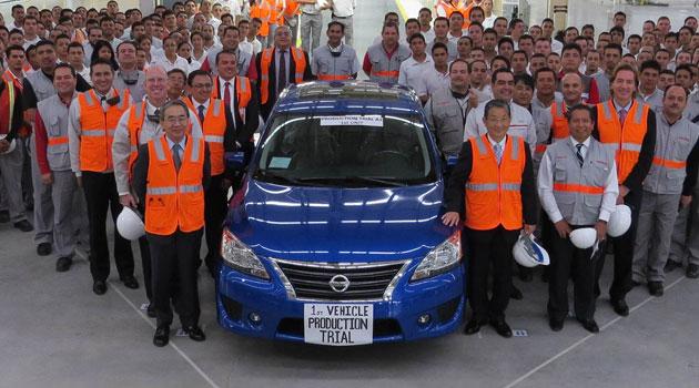 La planta Nissan, Aguascalientes 2, producirá la cuarta generación del Sentra