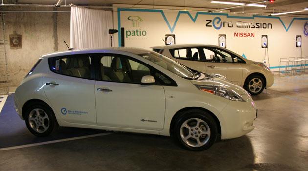 Nissan México inaugura centro de recarga eléctrica para el Leaf