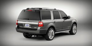 Ford Expedition 2015, parte trasera