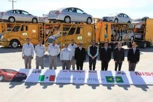 Nissan exporta Sentra a Brasil 2
