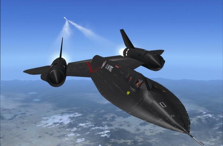 """#ViernesDeVelocidad – SR-71 """"Blackbird"""""""