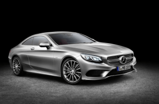 Mercedes-Benz S Class Coupe 2015, brilla en Ginebra