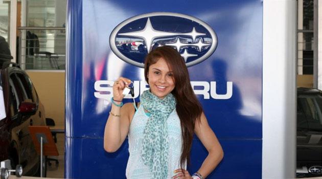 Paola Longoria nueva embajadora de Subaru en México