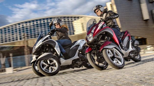 Yamaha Tricity, tres ruedas para la movilidad urbana