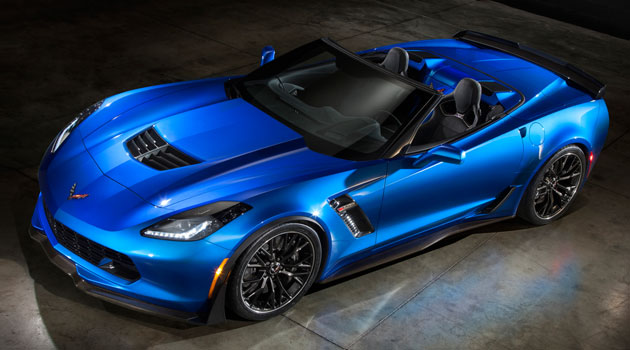 Corvette Z06 2015 Convertible en el Salón de Nueva York