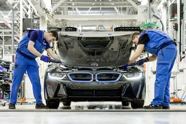 La producción del BMW i8