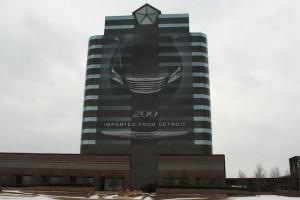 Oficinas de Chrysler en Detroit, Mi.